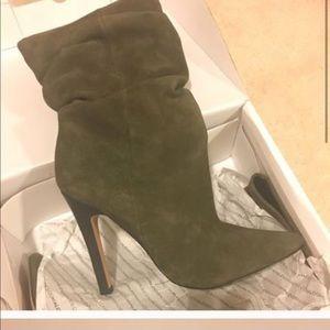 "Aldo ""Acigolla"" Slouch Boots Size 38.5"